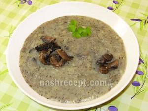 картофельный суп-пюре с шампиньонами - kartofelnyi sup-piure s shampinionami