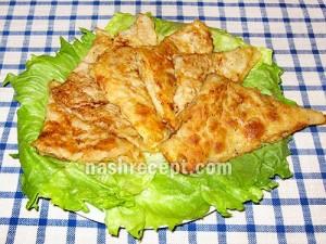 мясные конвертики из лаваша - myasnye konvertiki iz lavasha