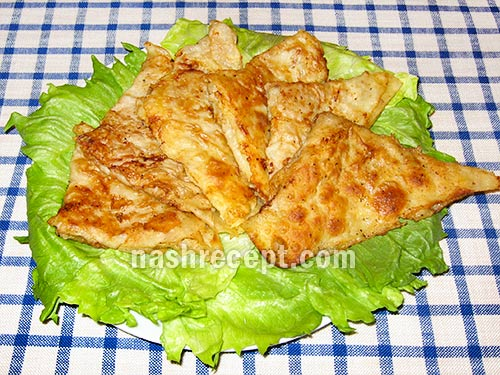 конвертики из лаваша с мясом - konvertiki iz lavasha s myasom