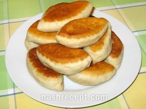 жареные постные пирожки с картошкой - zharenye postnye pirozhki s kartoshkoy