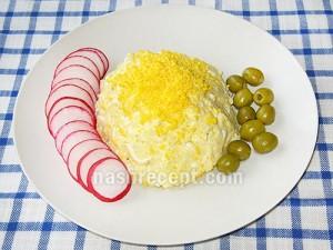 салат из плавленых сырков - salat iz plavlenyh syrkov