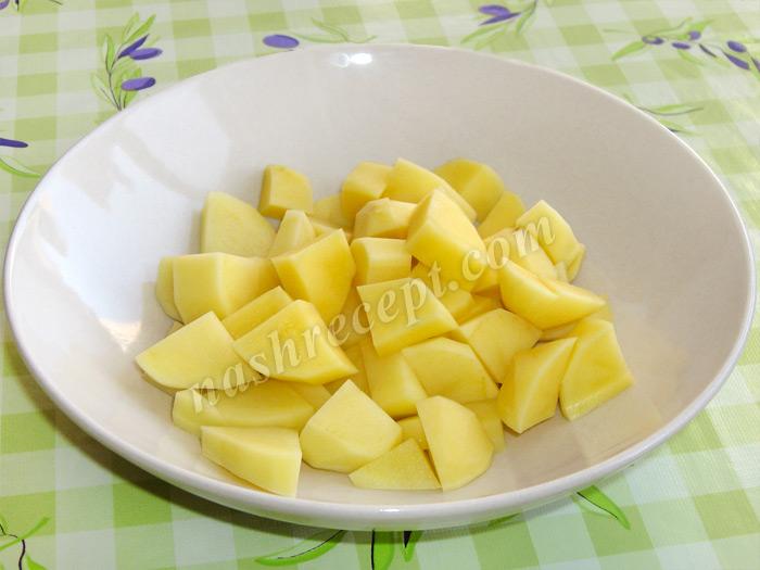 картошка для гречнево-рисового супа - kartoshka dlya grechnevo-risovogo supa