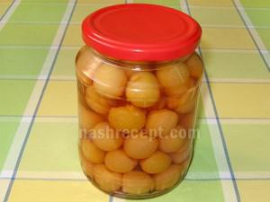 черешня консервированная - chereshnya konservirovannaya
