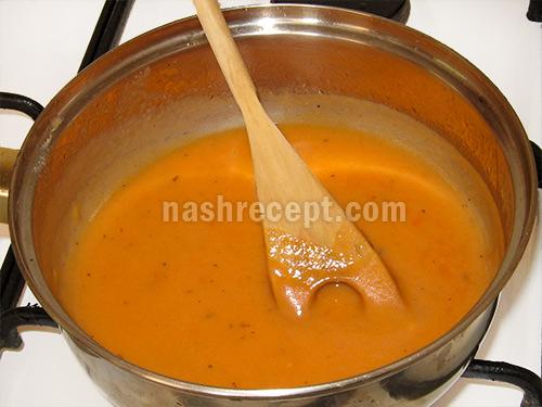 томатный соус для фаршированной кольраби - tomatnyi sous dlya farshirovannoy kolrabi