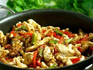 курица по-азиатски - kuritsa po-aziatski