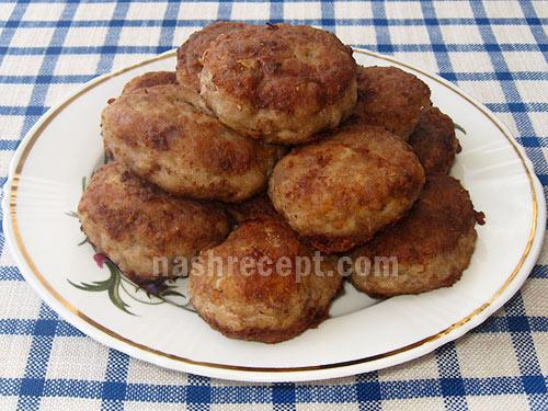 котлеты из мяса с гречкой - kotlety iz myasa s grechkoy