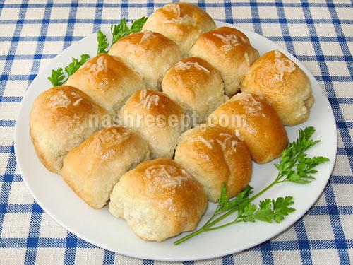 украинские пампушки с чесноком - ukrainskie pampushki s chesnokom