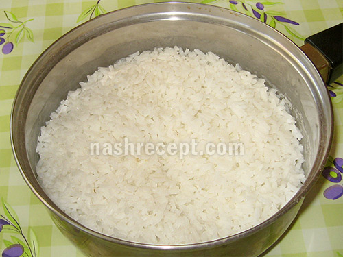 отвариваем рис - otvarivaem ris