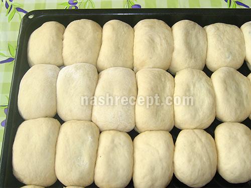 лепим пирожки с рисом и грибами - lepim pirozhki s risom i gribami