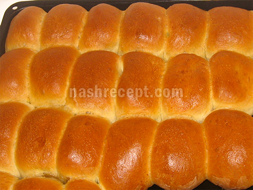 выпекаем пирожки с рисом и грибами - vypekaem pirozhki s risom i gribami