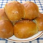 Дрожжевые пирожки с рисом и грибами