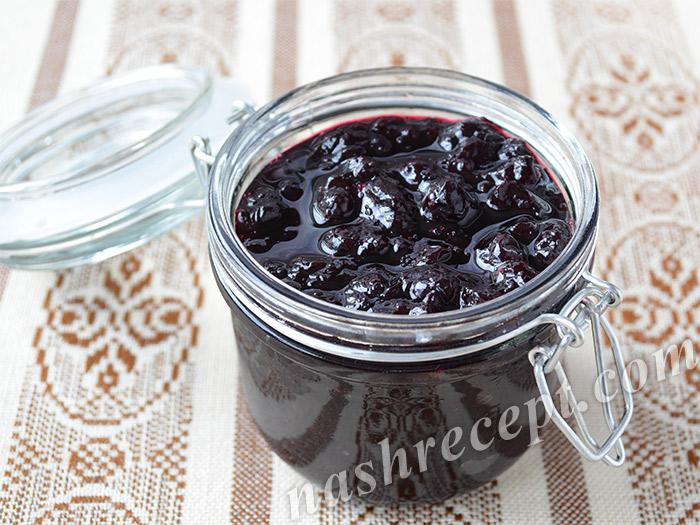 варенье из черники - varenie iz cherniki