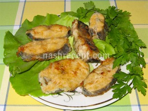 рыба хоки жареная - ryba hoki zharenaya