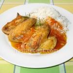 Куриные крылышки в томатном соусе