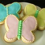 Лаймовое печенье «Бабочки»