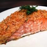 лосось запеченный в горчице - losos zapechennyi v gorchitse