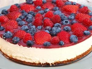ягодный чизкейк - yagodnyi cheesecake