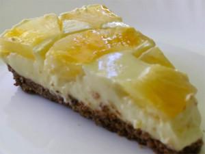 йогуртовый торт с ананасами - yogurtovyi tort s ananasami