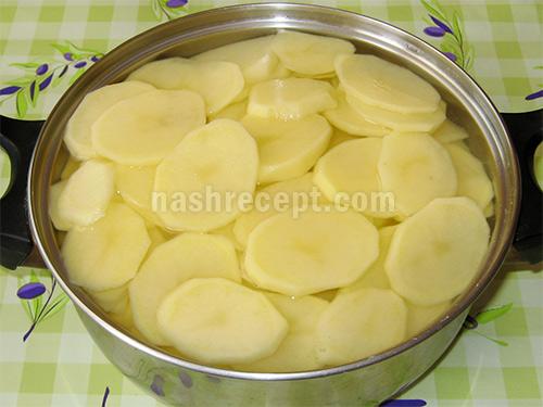 картофель для жаркого - kartofel dlya zharkogo