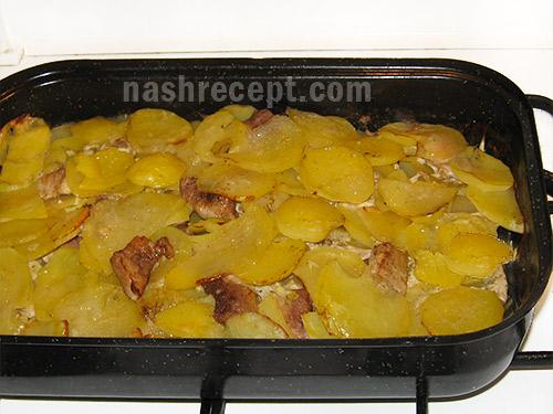 жаркое из свинины, запеченное в духовке - zharkoe iz svininy, zapechennoe v duhovke