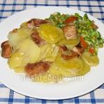 жаркое из свинины - zharkoe iz svininy