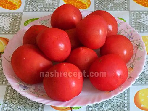 моем помидоры для консервирования - moem pomidory dlya konservirovaniya