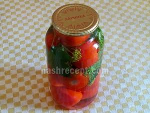 консервированные помидоры - konservirovannye pomidory