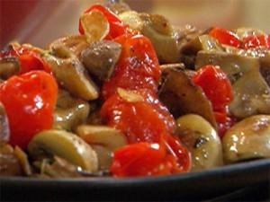 салат с грибами и луком - salat s gribami i lukom