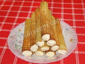 вафельные трубочки - vafelnye trubochki