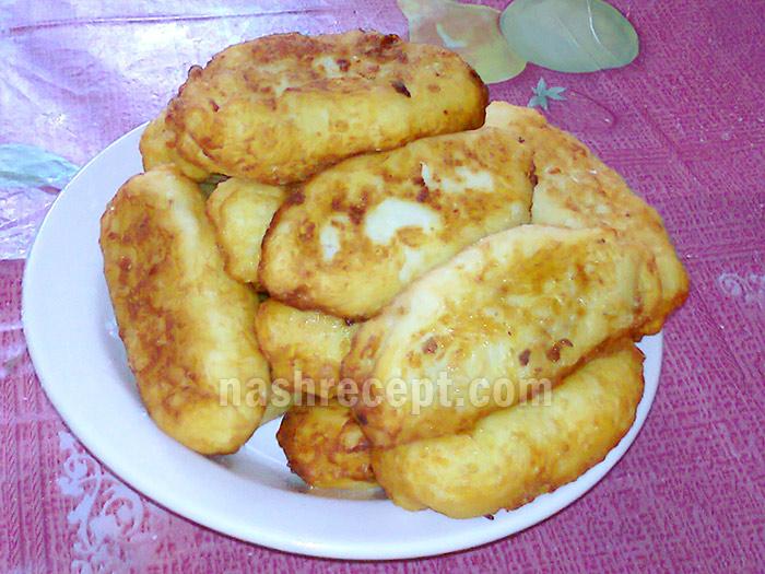 Пирожки из картофельного теста с мясом - pirozhki iz kartofelnogo testa s myasom