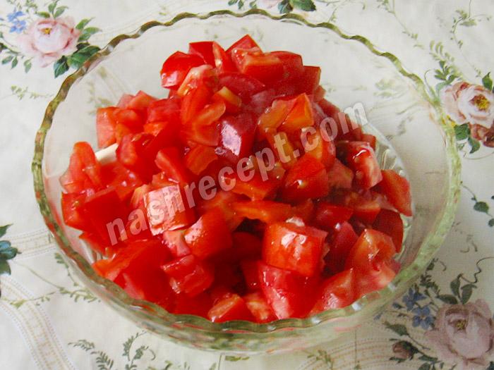 нарезаем помидоры - narezaem pomidory