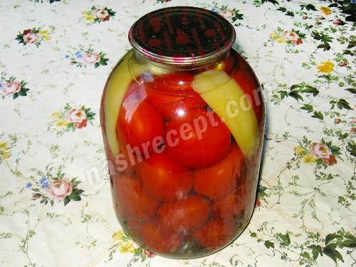 закатываем помидоры - zakatyvaem pomidory