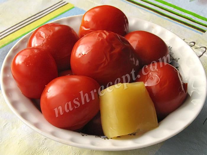подаем маринованные помидоры - podaem marinovannye pomidory