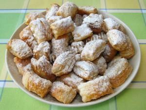 слоеное печенье - sloenoe pechenie