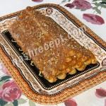 Торт «Монастырская изба» с вишней