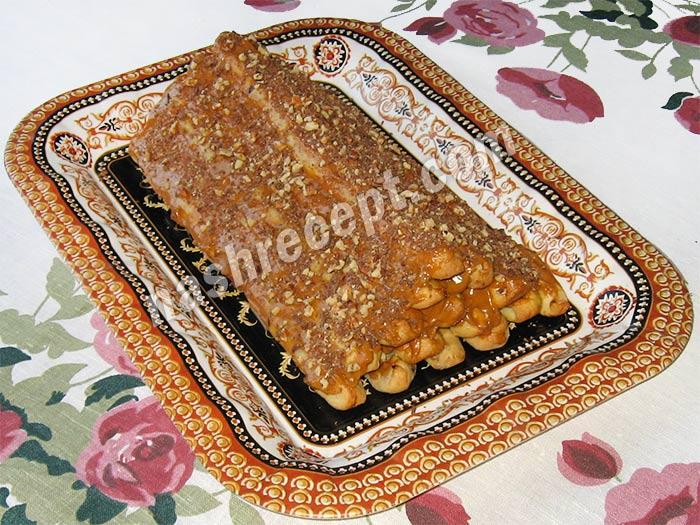 торт монастырская изба с вишней - tort monastyrskaya izba s vishney