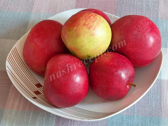 яблоки для варенья - yabloki dlya varenia