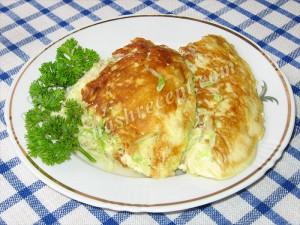 омлет из кабачков - omlet iz kabachkov