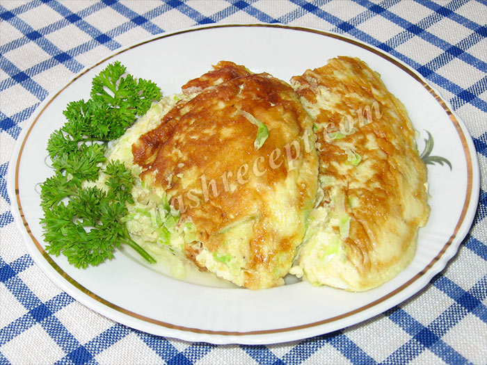 кабачковый омлет - kabachkovyi omlet