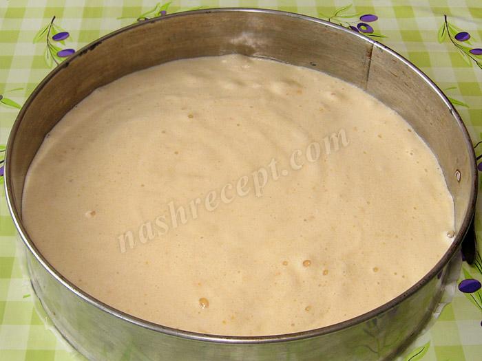 бисквитное тесто - biskvitnoe testo