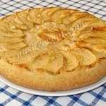 шарлотка с яблоками - sharlotka s yablokami