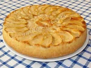 Вкусный рецепт шарлотки пошагово