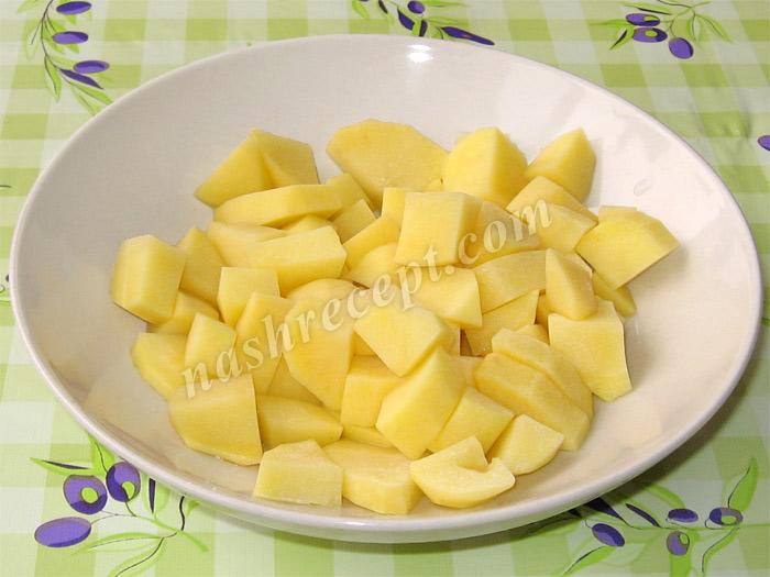 картофель для супа из спаржевой фасоли - kartofel dlya supa iz sparzhevoy fasoli