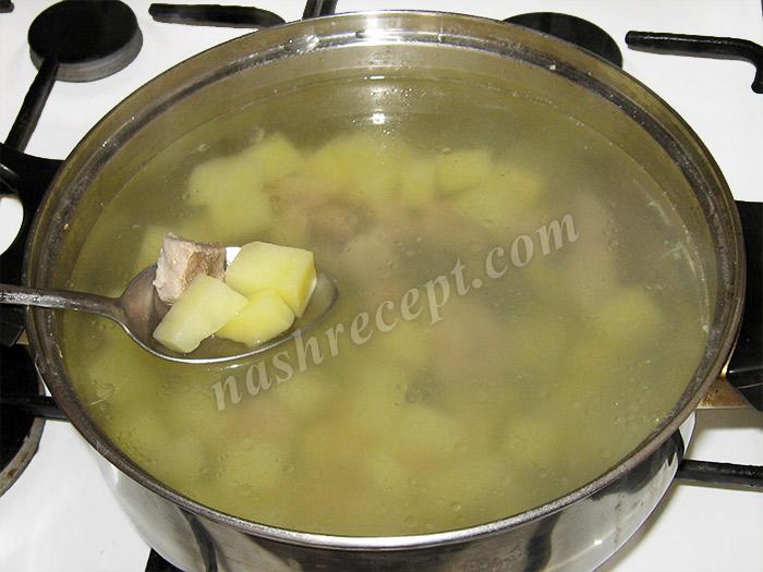 суп из спаржевой фасоли: мясо и картошка - sup iz sparzhevoy fasoli: myaso i kartoshka