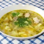 Суп из спаржевой фасоли