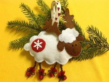 ёлочные игрушки к Новому году 2015 - yolochnye igrushki k Novomu godu 2015