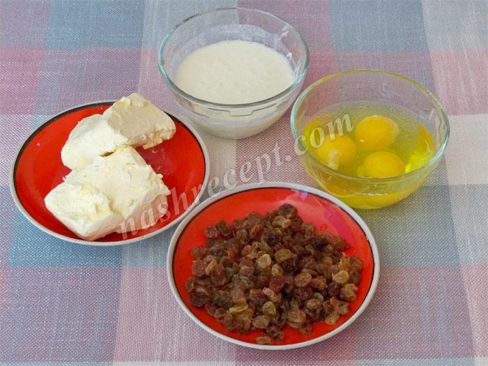 продукты для кексов - produkty dlya keksov