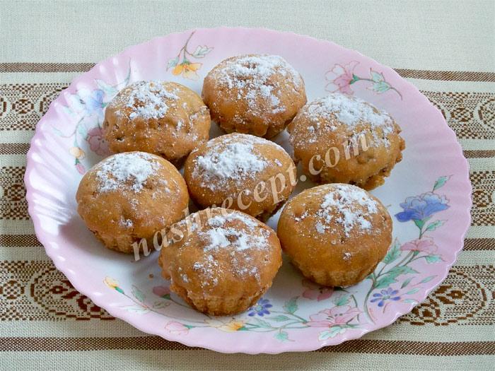 кексы с изюмом - keksy s izyumom