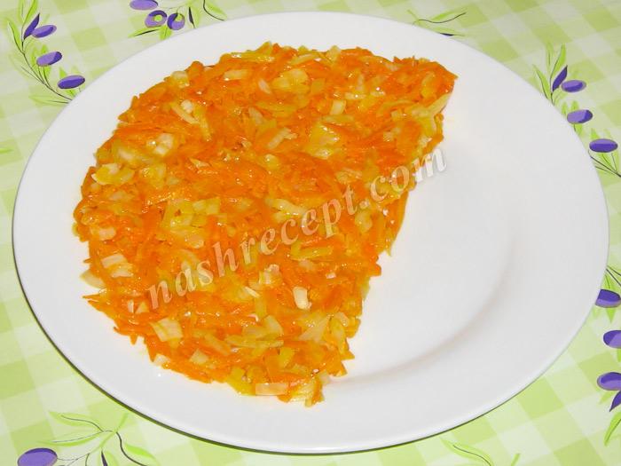 салат апельсиновая долька: морковь с луком - salat apelsinovaya dolka: morkov s lukom
