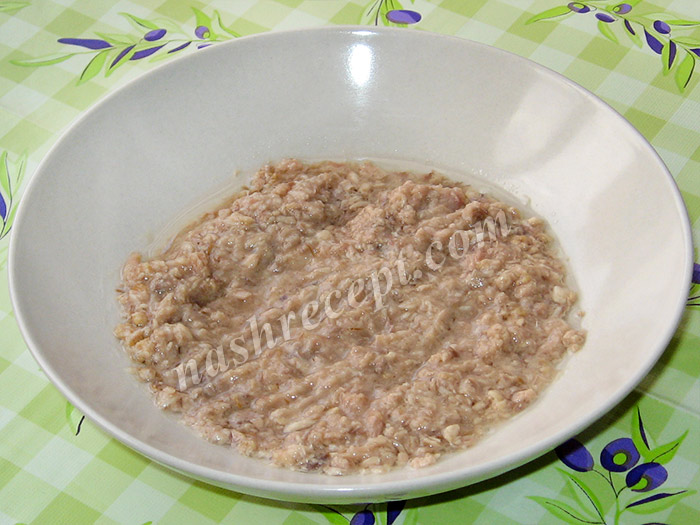 тунец для салата змейка - tunets dlya salata zmeyka